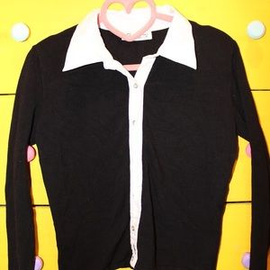 Tops - Knit collared top
